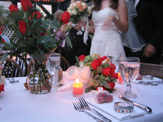 M and J Wedding